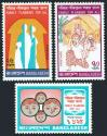 #BD197407 - Bangladesh 1974 Family Planning in Bangladesh 3v Stamps MNH   0.49 US$ - Click here to view the large size image.