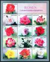 #BD201002 - Roses - Cultivated Varieties in Bangladesh Sheetlet   3.99 US$ - Click here to view the large size image.