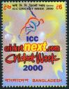 #BGD200007 - Icc Cricket 1v MNH 2000   0.60 US$ - Click here to view the large size image.