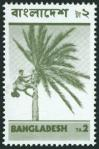 #BD197302-12 - Ta2.- Palm Tree Regular Stamps 1973 Single   3.00 US$ - Click here to view the large size image.