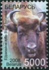 #BEL200810 - Belarus 2008 Wisent - Bison Bonasus 1v Stamps MNH Animal   2.84 US$ - Click here to view the large size image.