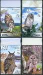 #BEL200811 - Belarus 2008 Birdlife International - Owls 4v Stamps MNH Birds   1.84 US$ - Click here to view the large size image.
