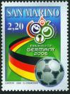 #SMR200605 - World Cup Football   3.80 US$ - Click here to view the large size image.