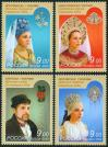 #RUS200921 - Russia 2009 Costume Headdresses 4v Stamps MNH   1.29 US$ - Click here to view the large size image.
