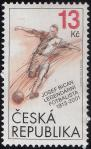 #CZE201324 - Czech Republic 2013 the 100th Anniversary of the Birth of Josef Bican (1913-2001) 1v Stamps MNH - Austrian-Czech Footballer - Sports   0.85 US$ - Click here to view the large size image.