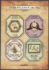 #TUR201302MS - The 150th Anniversary of Turkish Stamps M/S MNH 2013   3.00 US$ - Click here to view the large size image.