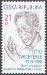 #CZE201328 - Otto Wichterle-Contact Lenses 1v MNH 2013   1.00 US$ - Click here to view the large size image.