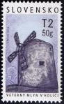 #SVK201307 - Technical Monuments - Holic Windmill 1v MNH 2013   0.55 US$ - Click here to view the large size image.