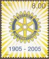 #EST200503 - 100th Anniversary of the Founding of Rotary International 1v MNH 2005   0.90 US$ - Click here to view the large size image.