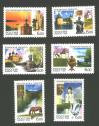 #RUS2006S19 - Russia 2006 Regions 6v Stamps MNH Architecture Art Boats Church Horse Rivers Religions Sculptures   2.29 US$ - Click here to view the large size image.