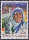 #VAT201609 - Canonization of Mother Teresa 1v MNH 2016   1.60 US$ - Click here to view the large size image.