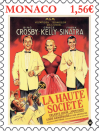 #MCO201806 - Monaco 2018 Hight Society - Film Art Cinema Grace Kelly - Sinatra Crosby 1v Stamps MNH   2.09 US$ - Click here to view the large size image.