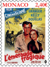 #MCO201807 - Monaco 2018 Tragic Emerald - Film Art Cinema - Grace Kelly - Douglas Granger 1v Stamps MNH   3.24 US$ - Click here to view the large size image.