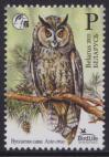 #BLR201508 - Belarus 2015 Bird of the Year - Long Eared Owl 1v Stamps MNH Birdlife   1.25 US$