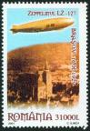 #ROU200416 - Romania 2004 75th Anniversary of the Flight of Zeppelin Lz-127 Over Brasov 1v Stamps MNH   1.60 US$ - Click here to view the large size image.