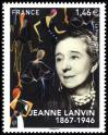 #FRA201735 - France 2017 Jeanne Lanvin 1v Stamps MNH Fashion Designer   1.89 US$ - Click here to view the large size image.