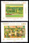 #FRA201748 - France 2017 Diplomatic Relations - Joint Issue With Philippines 2v Stamps MNH Art Paintings   2.74 US$ - Click here to view the large size image.