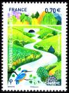 #FRA201621 - France 2016 Reopening of the Beaver River - Val-De-Marne 1v Stamps MNH   0.99 US$ - Click here to view the large size image.