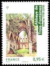 #FRA201813 - France 2018 Tourism - Trois-Fontaines Abbey 1v Stamps MNH Architecture   1.29 US$ - Click here to view the large size image.