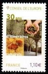 #FRA201752 - France 2017 Council of Europe - 30 Years of Routes 1v Stamps MNH   1.49 US$ - Click here to view the large size image.