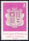 #ANDS201601 - Andorra (Spain) 2016 Coat of Arms 1v Stamps MNH   0.99 US$ - Click here to view the large size image.