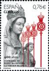 #ESP201401 - Spain 2014 the 400th Anniversary of the Brotherhood of Nuestra Señora De La Virgen Blanca in Vitoria-Gasteiz  1v MNH   1.10 US$ - Click here to view the large size image.
