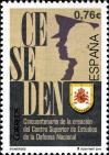 #ESP201403 - Spain 2014 the 50th Anniversary of Ceseden - Centre For National Defence Studies 1v MNH   1.10 US$ - Click here to view the large size image.