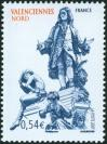 #FRA200710 - France 2007 Valenciennes North : Watteau Fountain 1v Stamps MNH - Art - History   0.84 US$ - Click here to view the large size image.