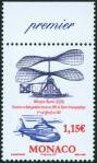 #MCO200704 - Monaco 2007 Centenary of Maurice Leger's First Helicopter Flight 1v Stamps MNH   1.49 US$ - Click here to view the large size image.