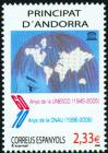 #ANDS200601 - Andorra (Spain) 2006 60th Anniversary of Unesco & 10th Anniversary of the andorran National Commission For Unesco (Cnau) 1v Stamps MNH Globe   2.84 US$ - Click here to view the large size image.