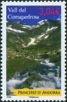 #AND200709 - Andorra (France) 2007 Coma Pedrosa Valley 1v Stamps  MNH Mountain Waterfall   3.99 US$ - Click here to view the large size image.