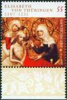 #DEU200723 - Germany 2007 Stamp 800th Anniversary of the Birth of Elisabeth Von Thuringer 1v MNH   0.70 US$ - Click here to view the large size image.