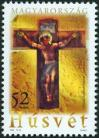 #HUN200606 - Easter - Christ on the Cross   0.59 US$ - Click here to view the large size image.