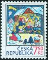 #CZE200721 - Christmas 2007 - Nativity Scene (Josef Lada 1887-1957)   0.54 US$ - Click here to view the large size image.