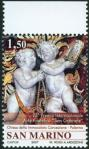 #SMR200704 - 25th 'San Gabriele' International Philatelic Art Award : Angels At the Church of the Immaculate Conception - Palermo   2.59 US$ - Click here to view the large size image.