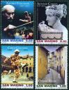 #SMR200714 - San Marino 2007 Artists 4v Stamps MNH   5.99 US$ - Click here to view the large size image.