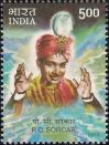 #IND201005 - India 2010 Stamp P C Sorcar Magician 1v MNH   0.25 US$ - Click here to view the large size image.