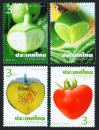 #THA201103 - Thailand 2011 Vegetables & Fruit 4v Stamps MNH   0.74 US$ - Click here to view the large size image.