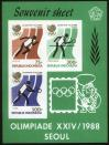 #IDN198802 - Seoul Olympic 3 S/S Perf Imperf   20.00 US$ - Click here to view the large size image.