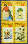 #IDN201001 - World Cup Block of 4 MNH 2010   3.49 US$ - Click here to view the large size image.