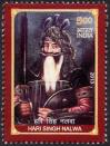 #IND201319 - Hari Singh Nalwa 1v MNH   0.30 US$ - Click here to view the large size image.