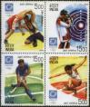 #IND200420 - India 2004 Stamps Olympic Games – Athens Block of 4 MNH   2.00 US$ - Click here to view the large size image.