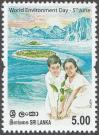 #LKA201412 - World Environment Day 1v MNH 2014   0.20 US$ - Click here to view the large size image.