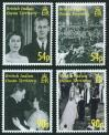 #BIO200703 - Diamond Wedding Anniversary of Queen Elizabeth and Prince Philip 4v MNH 2007   6.49 US$ - Click here to view the large size image.