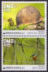 #KOR201711 - Nature in the Dmz Setenant Pair MNH 2017   0.80 US$ - Click here to view the large size image.