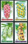 #THA200502 - Thailand 2005 Flowers - Orchids 4v Stamps MNH Flora   1.24 US$ - Click here to view the large size image.