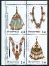 #TJK200703 - Tajikistan 2007 Ancient Jewelry - Antique Jewellery Block of 4 Stamps MNH   4.99 US$ - Click here to view the large size image.