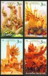 #THA200917 - Thailand 2009 Candle Festival 4v Stamps MNH Art Candle Statue Sculptures   0.69 US$ - Click here to view the large size image.