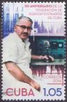 #CUB201633 - The 50th Anniversary of the Frc - Cuban Federation of Radio Amateurs 1v MNH 2016   0.50 US$ - Click here to view the large size image.