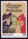 #URY201605 - Uruguay 2016 Tribute to Women Police officers 1v Stamps MNH   0.90 US$ - Click here to view the large size image.